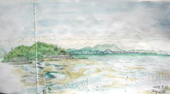 行橋、蓑島と北九州空港連絡橋.jpg